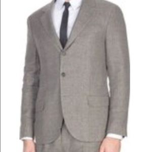 Brunello Cucinelli Mens Brown Suits Size 50